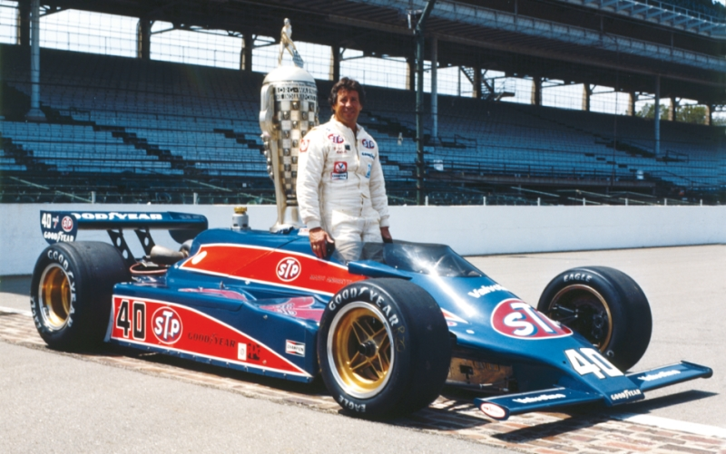 Mario Andretti Wins the 1981 Indianapolis Trophy